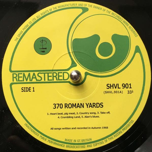 Pink Floyd 370 Roman Yards Ltd Numbered LP