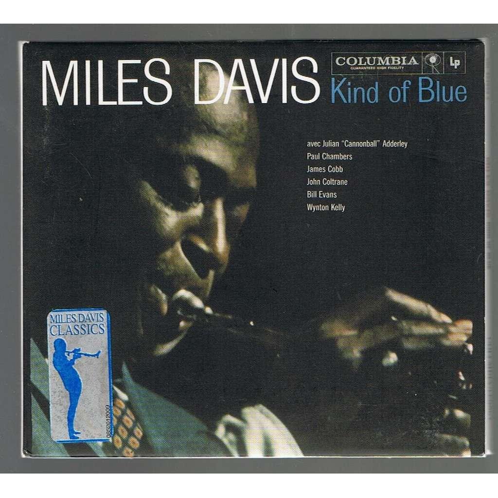 MILES DAVIS KIND OF BLUE -digipack-