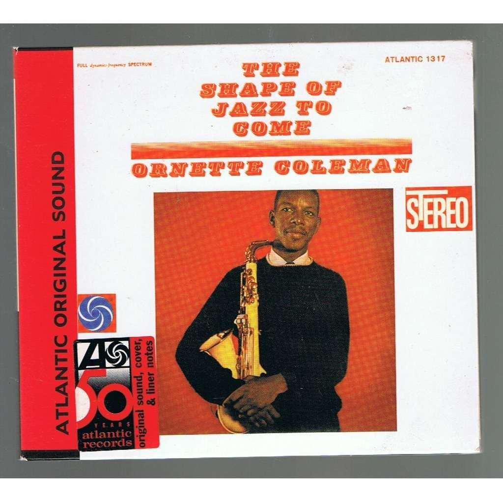 ORNETTE COLEMAN ORNETTE COLEMAN THE SHAPE OF JAZZ TO COME -digipack-