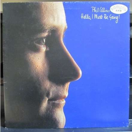 Phil Collins Hello I Must Be Going! -sample promo-