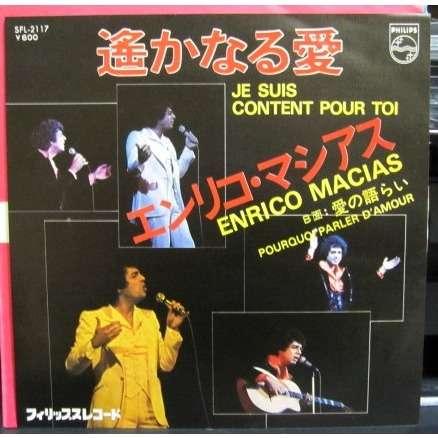 Enrico Macias Je Suis Content Pour Toi/Pourquoi Parler D'amour -white label promo-