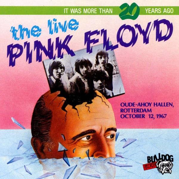 pink floyd Oude-Ahoy Hallen, Rotterdam, October 12, 1967 - Pink Vinyl