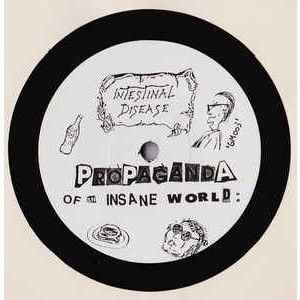 intestinal disease / brutal mutilation Propaganda Of An Insane World / Alter Ego