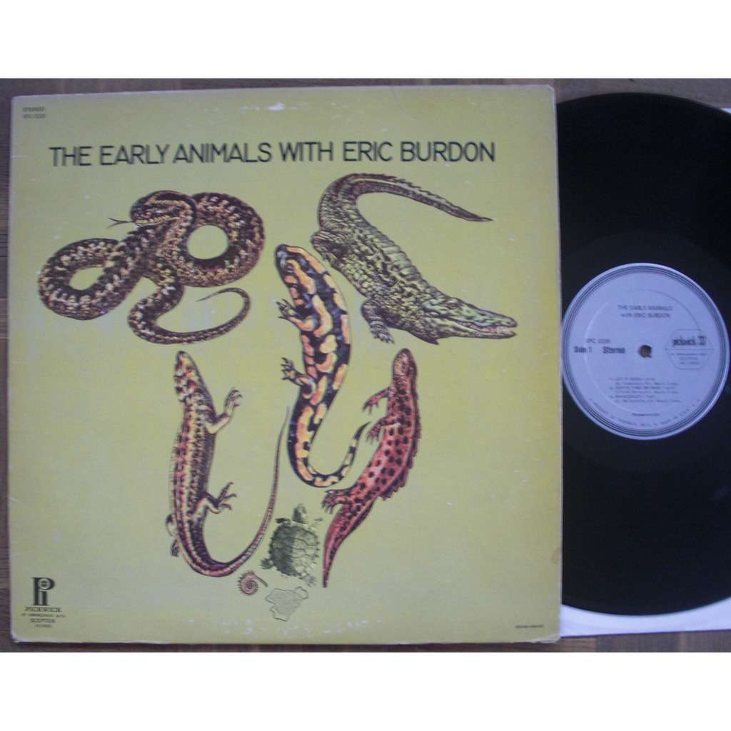 The Animals The Early Animals With Eric Burdon