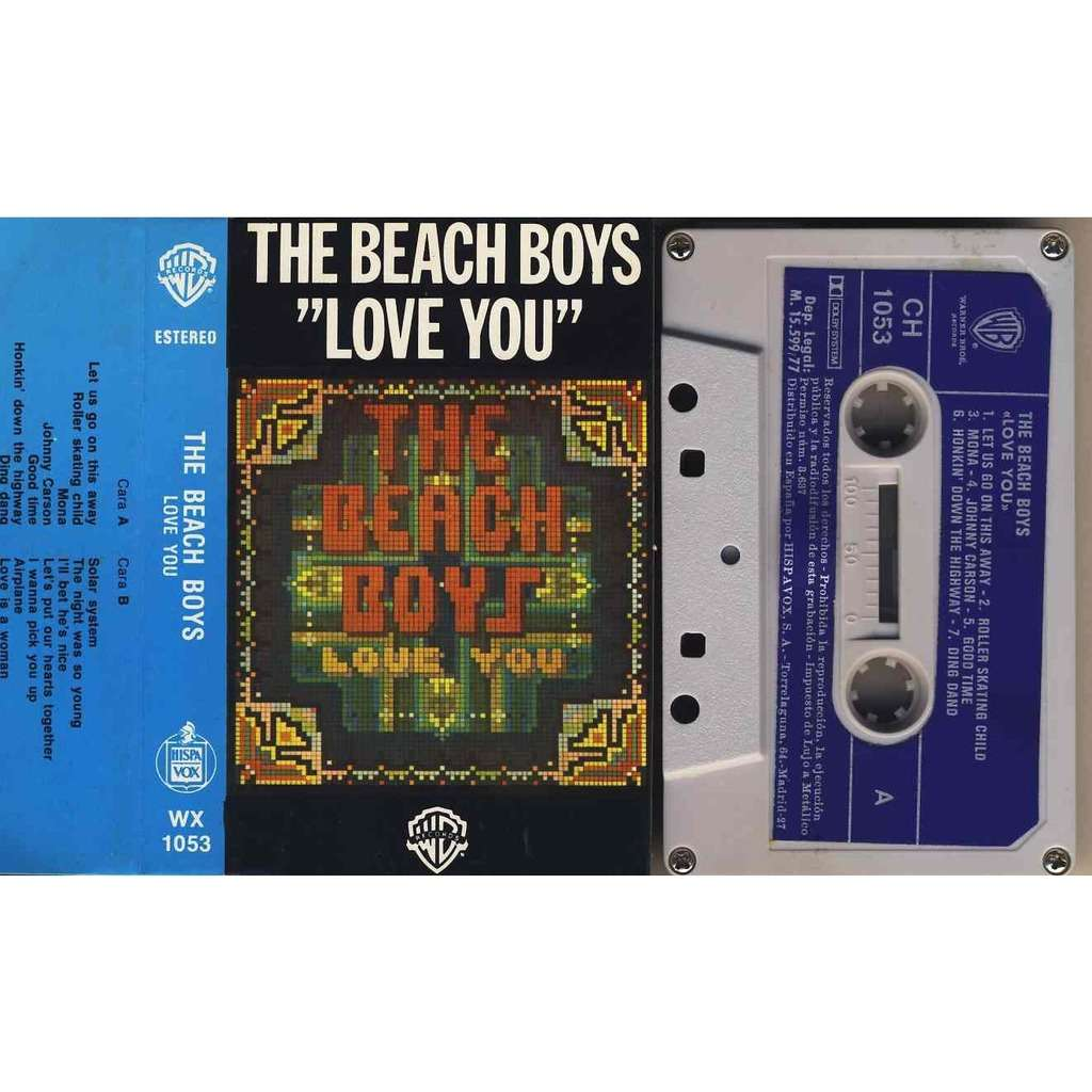 The Beach Boys Love You Let Us go this away / solar System / Love is woman