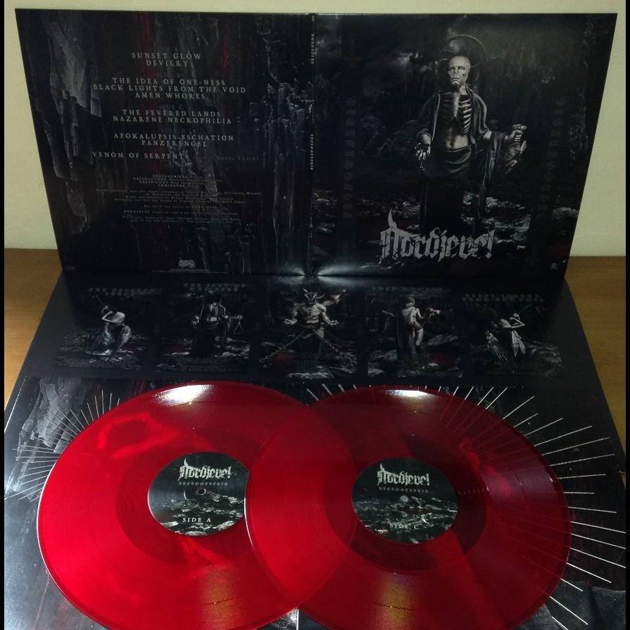 NORDJEVEL Necrogenesis. Red Vinyl
