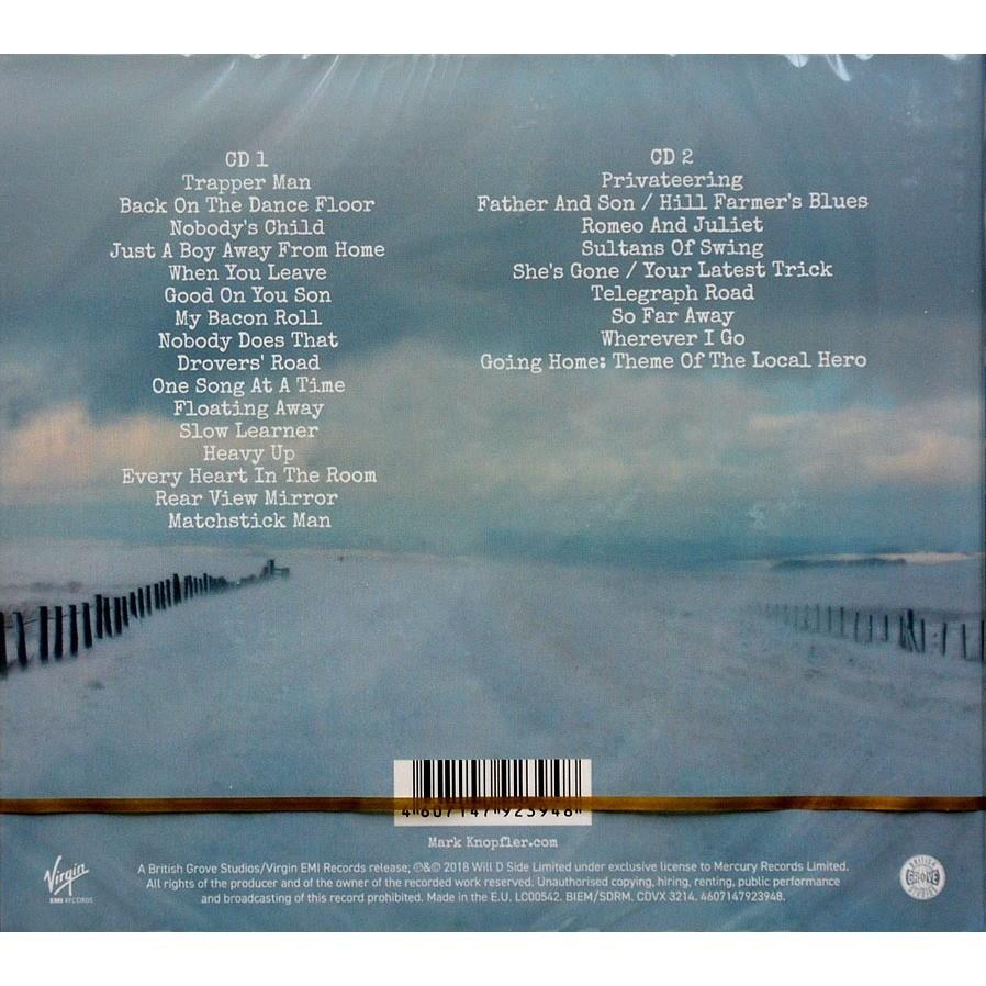 mark knopfler (Dire Straits) Down The Road Wherever / Bonus Live 2CD Digipak