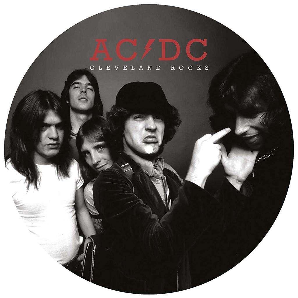 AC/DC Cleveland Rocks - The Ohio Broadcast 1977 (lp) Ltd Edit Pict-Disc -E.U