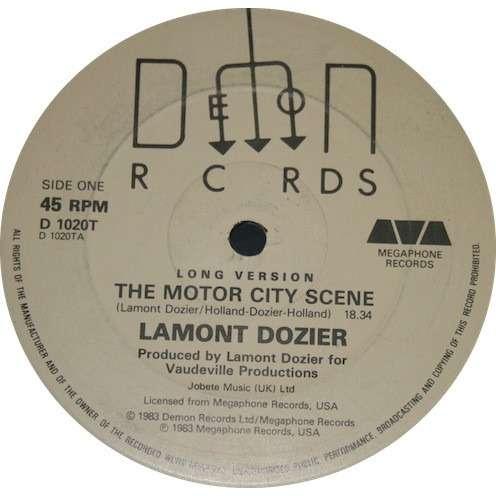 Lamont Dozier The Motor City Scene