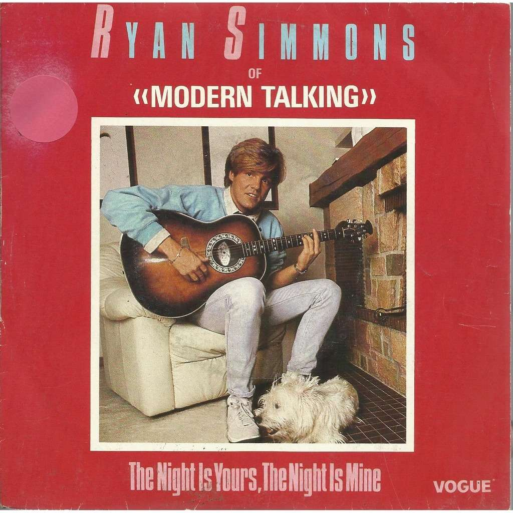 Ryan SIMMONS the night is yours , the night is mine / instru.