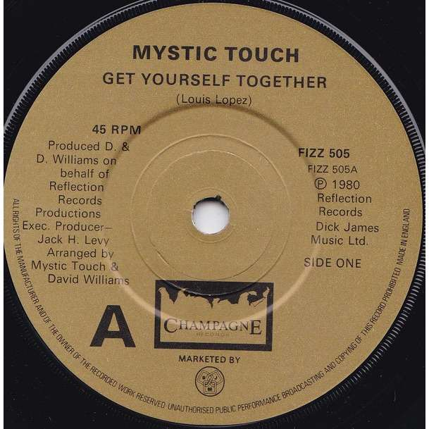 Mystic touch Get yourself together / party people