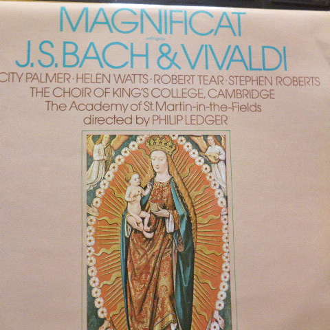 Philip Ledger Aacademy of ST.Martin in the fields Magnificat Bach/Vivaldi