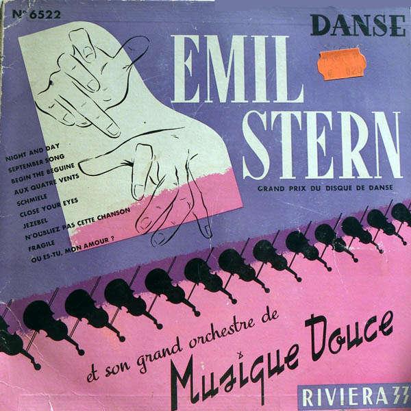 Emil Stern et son grand orchestre de musique douce Grand prix du disque de danse