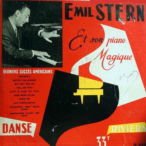Emil Stern et son piano magique derniers succès américains