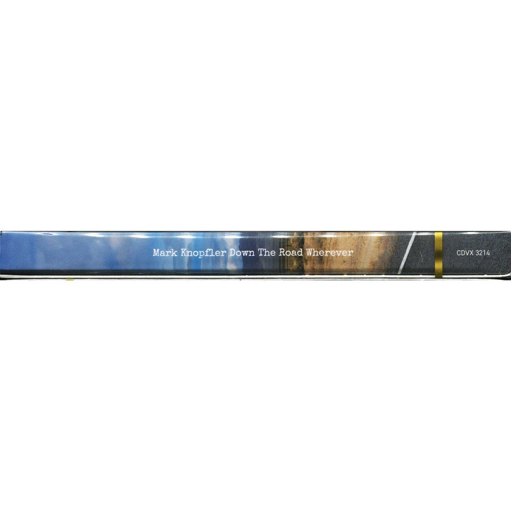 Mark Knopfler (Dire Straits) Down The Road Wherever / Bonus Live CD (2CD Digipak) New & Factory-Sealed