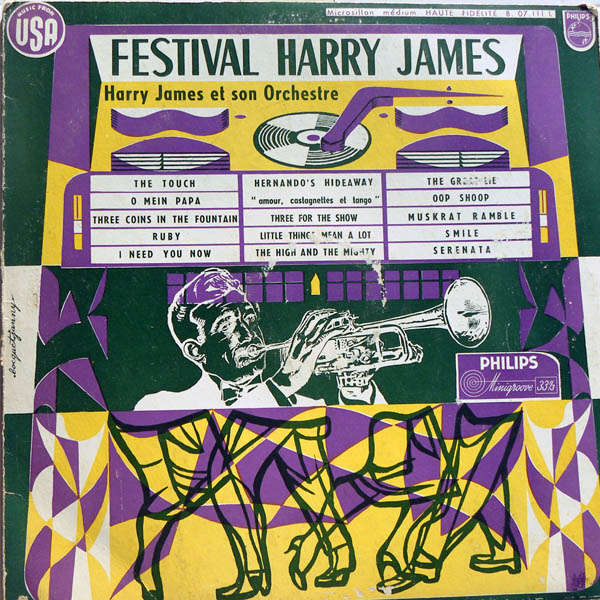 harry james and his orchestra festival Harry James