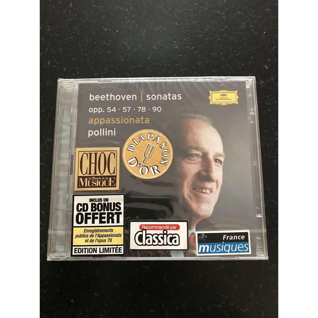 MAURIZIO POLLINI / BEETHOVEN PIANO SONATAS OPP. 54 . 57 . 78. 90