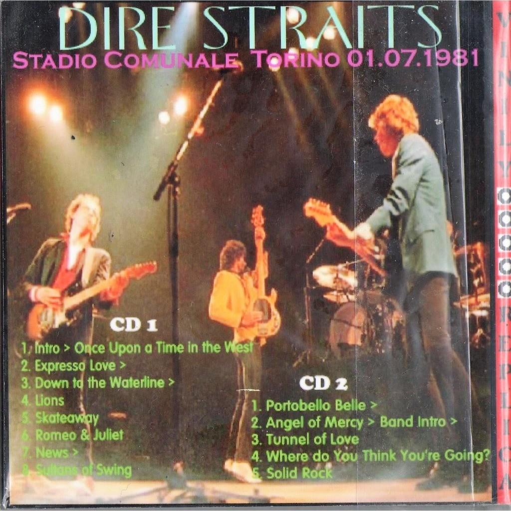 Dire Straits Live at 'Stadio Comunale' (Torino IT 01.07.1981)