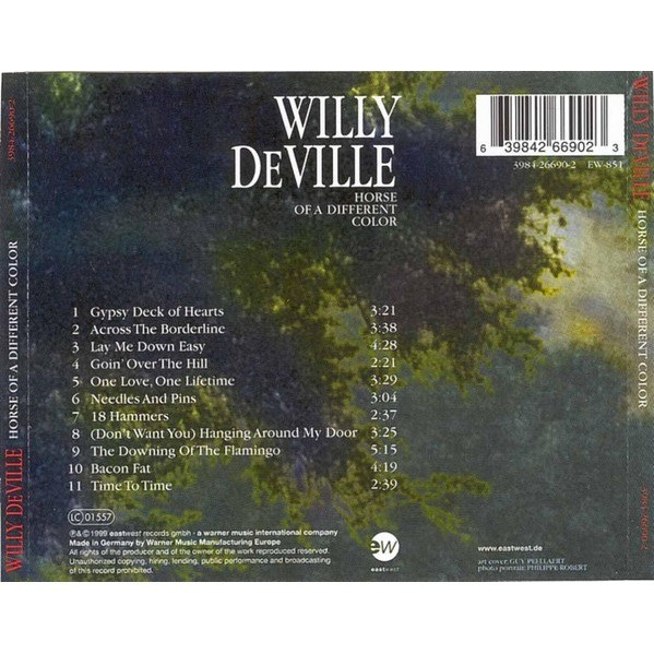 willy deville Horse Of A Different Color