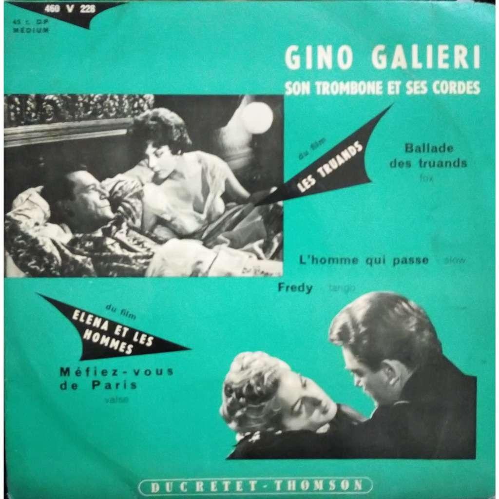 Gino GALIERI Ballade des truands :L'homme qui ,passe :Freddy :Méfiez-vous de Paris