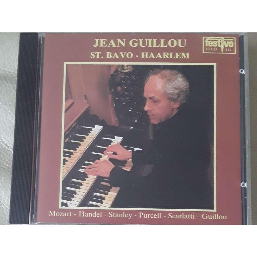 jean guillou - Mozart - handel - Stanley - Purcell St Bavo - Haarlem