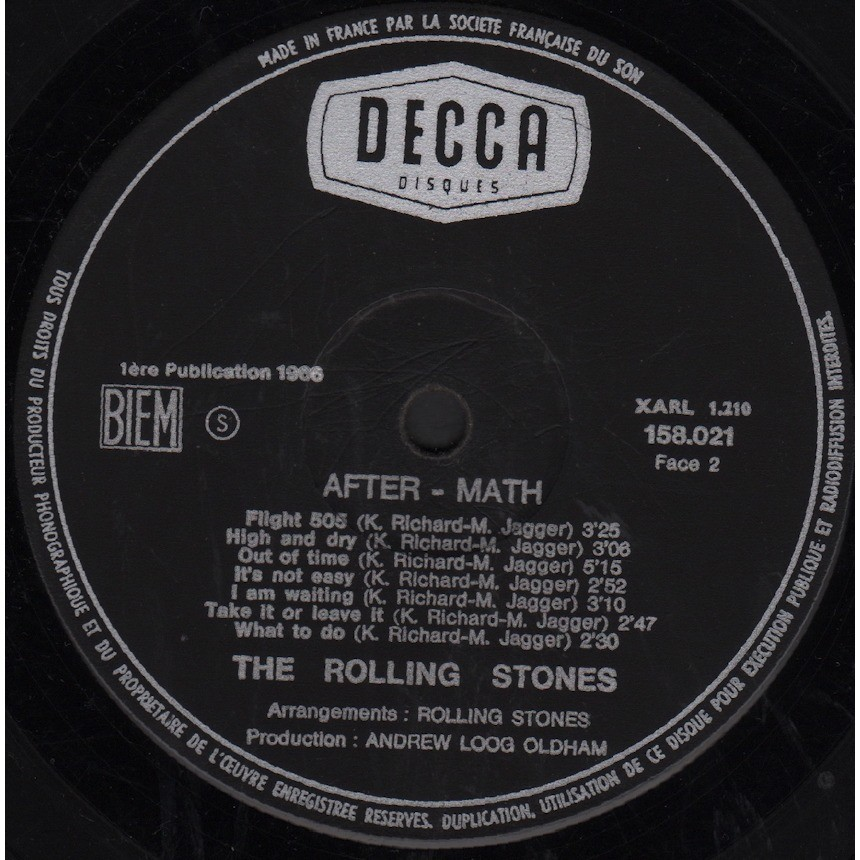 the rolling stones After-math