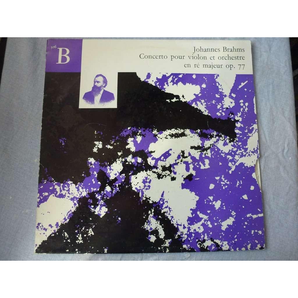 PAUL MAKANOWITZKY & RUDOLF ALBERT BRAHMS concerto pour violon op.77 - ( very rare )