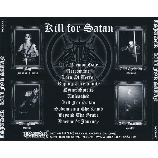 Tsjuder Kill For Satan