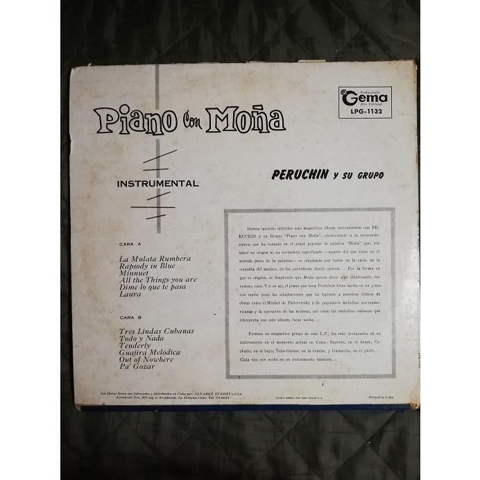 Peruchin y su Grupo Piano con Moña