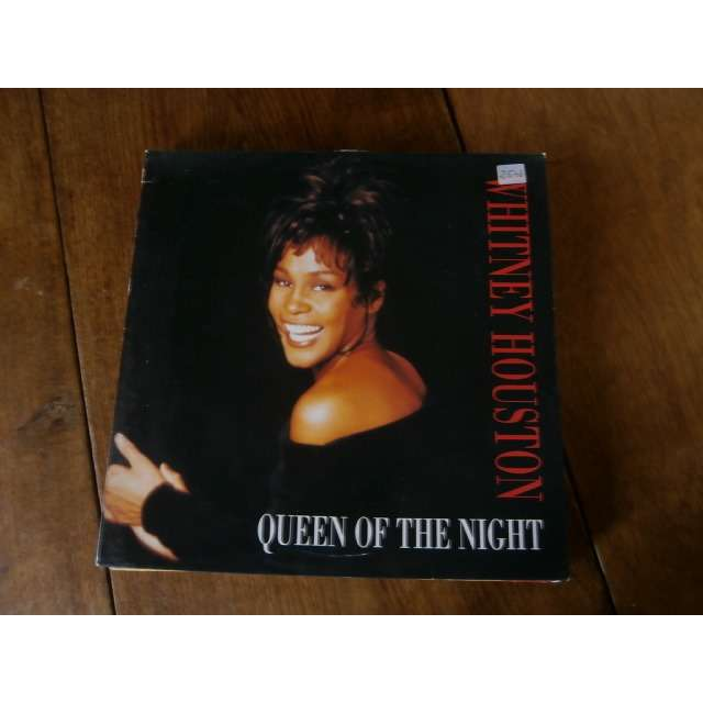 whitney houston queen of the night