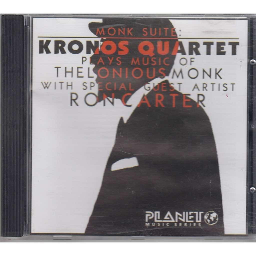 KRONOS QUARTET, RON CARTER Monk Suite: KRONOS QUARTET Plays Music of THELONIOUS MONK CD NEW