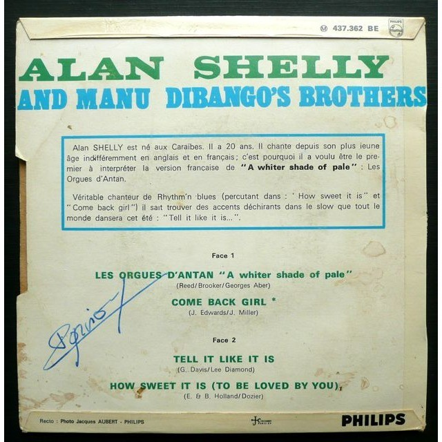 Alan Shelly And Manu Dibango's Brothers How sweet it is (to be loved by you)