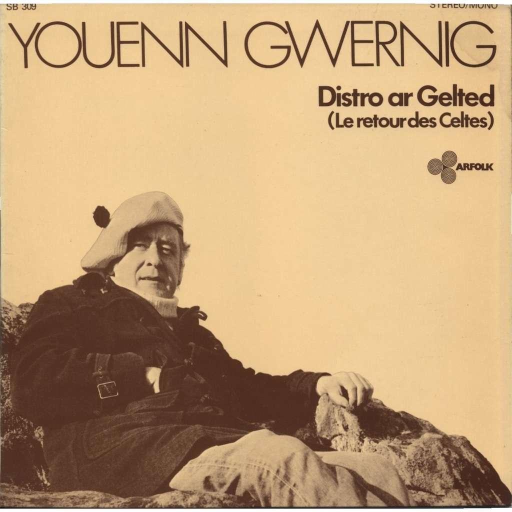 YOUENN GWERNIG Distro ar Gelted (Le Retour des Celtes) + insert 4 pages