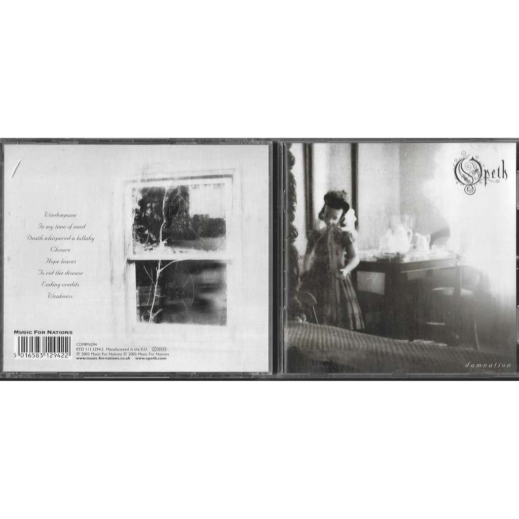 Opeth.Damnation Music for Nations -