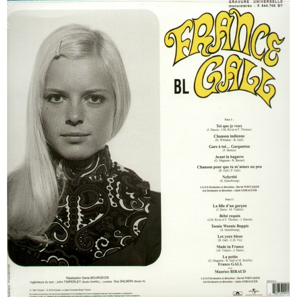 france gall 1968