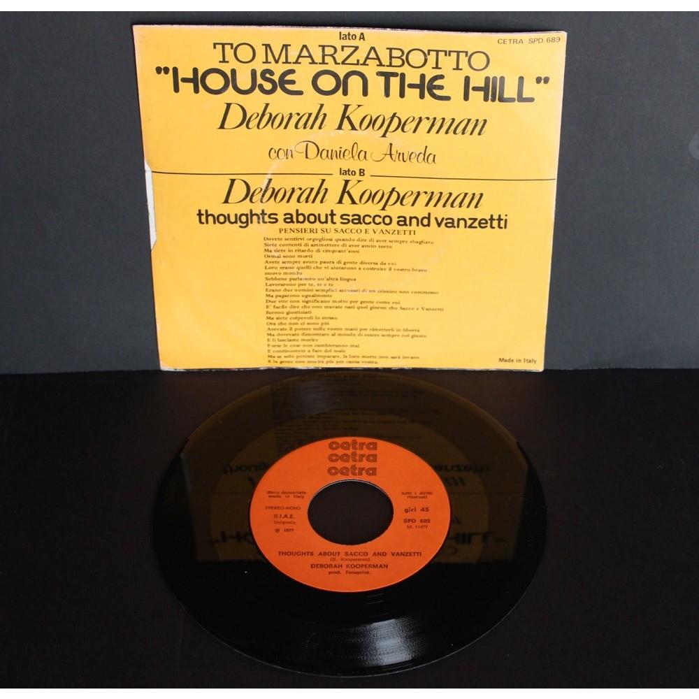 Deborah Kooperman To Marzabotto House On The Hill