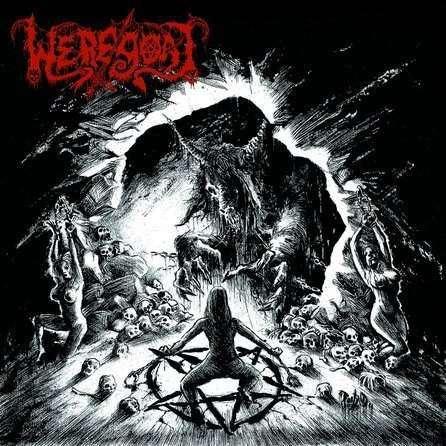 WEREGOAT Unholy Exaltation of Fullmoon Perversity. Black Vinyl