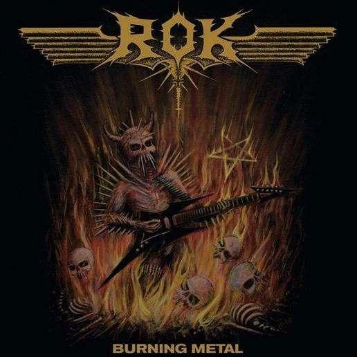 ROK Burning Metal. Black Vinyl