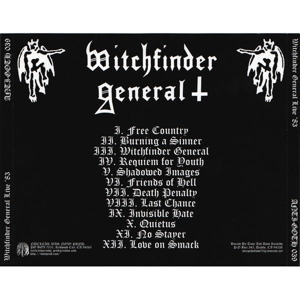 Witchfinder General Live '83