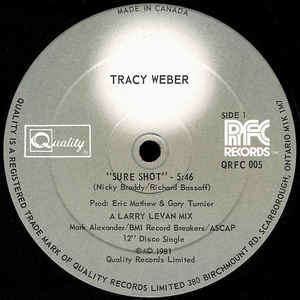 TRACY WEBER sure shot
