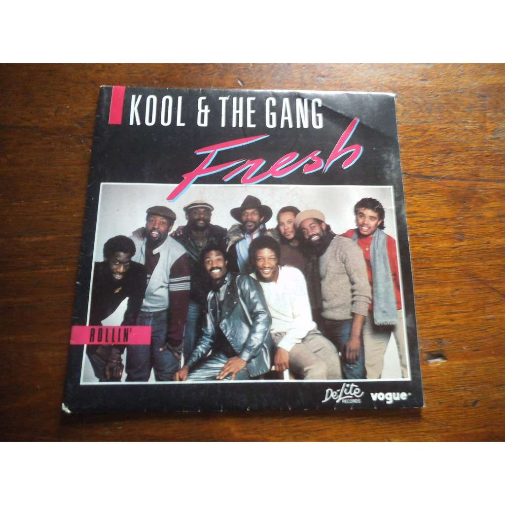 Kool & The Gang Fresh / Rollin'