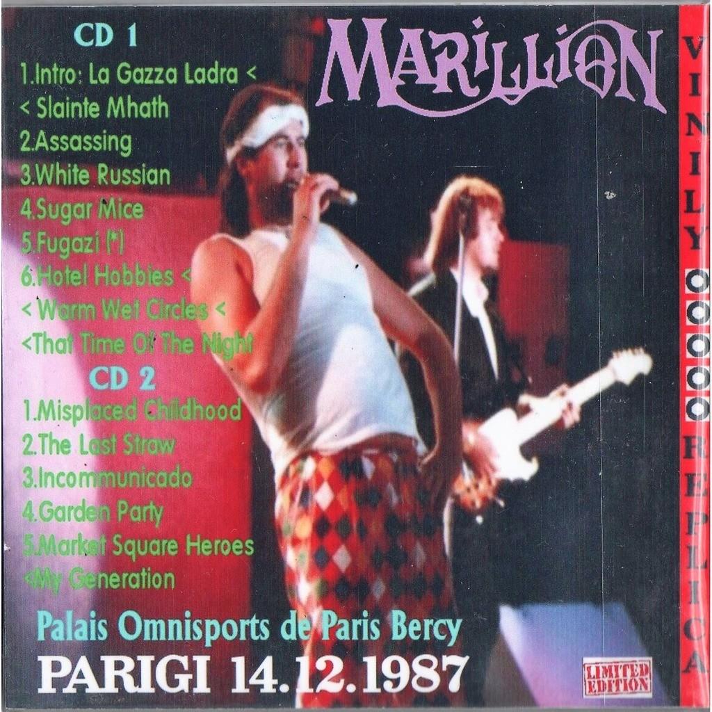 Marillion Live at ' Palais Omnisports De Paris Bercy' (Paris FR 14.12.1987)