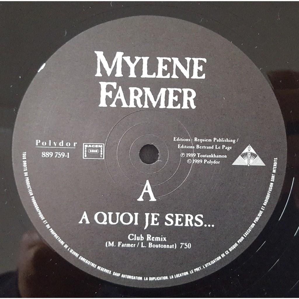 mylène farmer A Quoi Je Sers... (Club Remix)