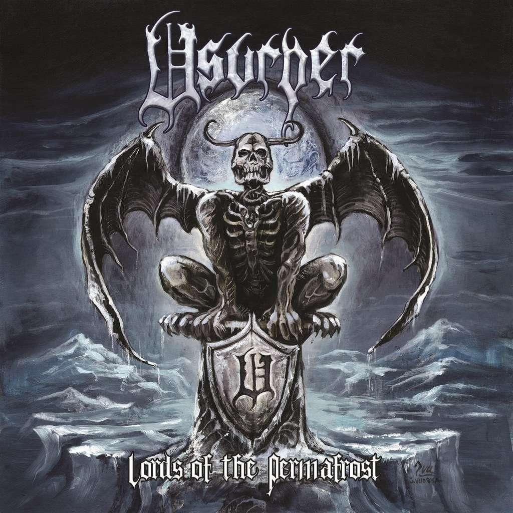 USURPER Lords Of The Permafrost. Black Vinyl