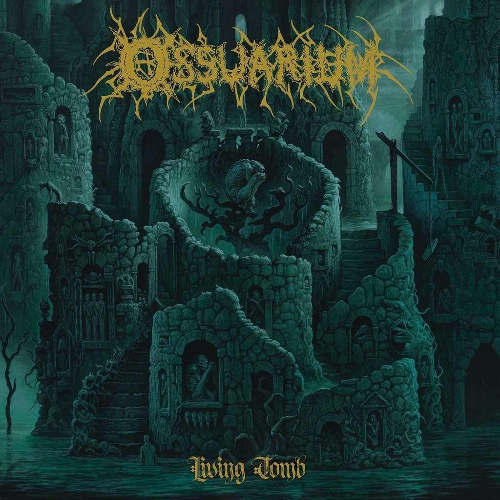 OSSUARIUM Living Tomb. Black Vinyl