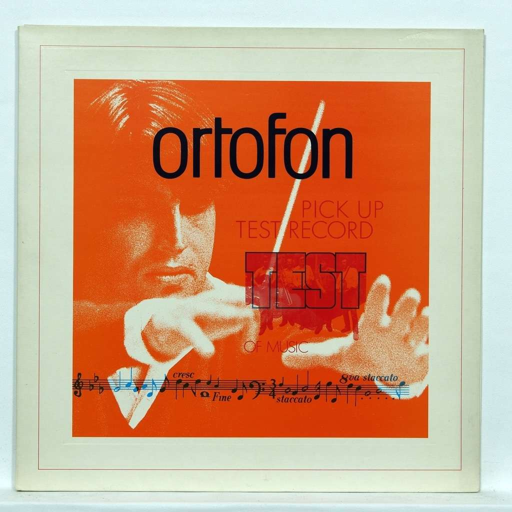 Test records Ortofon Works by Turina, Khatchaturian, Couperin, Ohrwall, Gazarian…