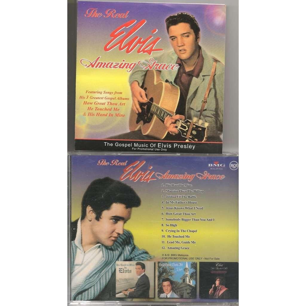 elvis presley 1 cd amazing grace cd malaysia 12 gospel songs