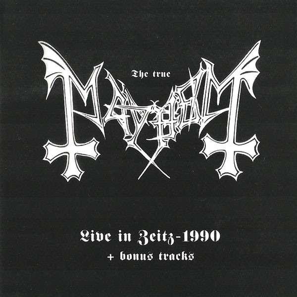 MAYHEM Live In Zeitz - 1990 + Bonus Tracks