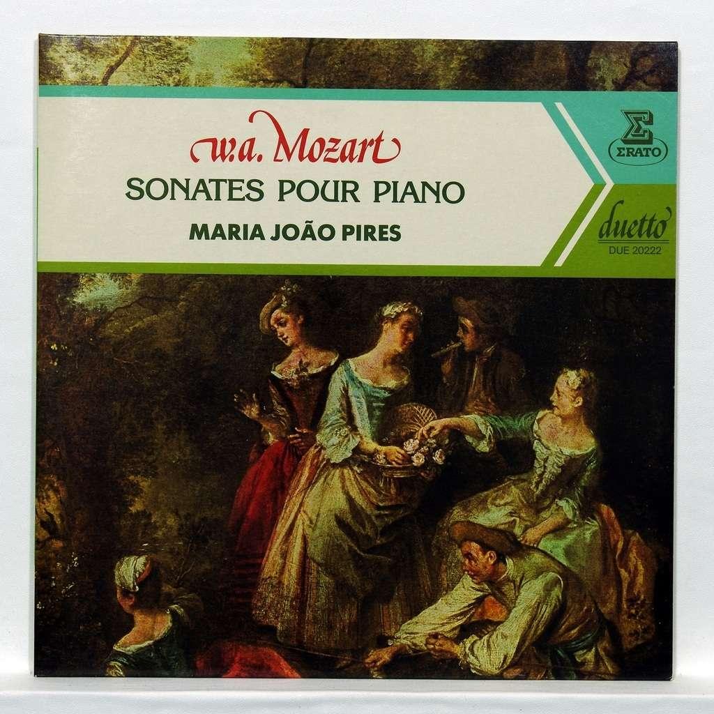Maria Joao Pires Mozart : Sonatas for piano K.310, K.397, K.331, K.545, K.475, K.457