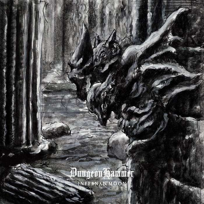 DUNGEONHAMMER Infernal Moon. Black Vinyl